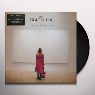 The Fratellis EYES WIDE TONGUE TIED Vinyl Record