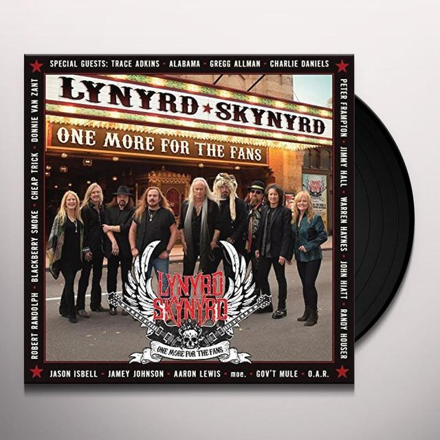 Lynyrd Skynyrd ONE MORE FOR THE FANS Vinyl Record - Gatefold Sleeve