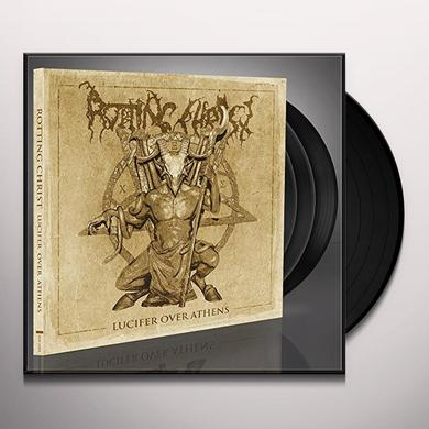 Rotting Christ LUCIFER OVER ATHENS Vinyl Record