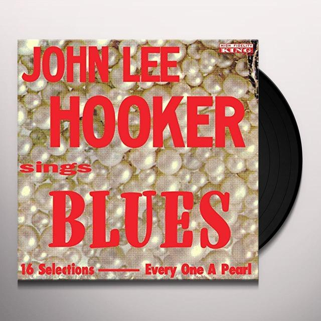 John Lee Hooker SINGS BLUES Vinyl Record