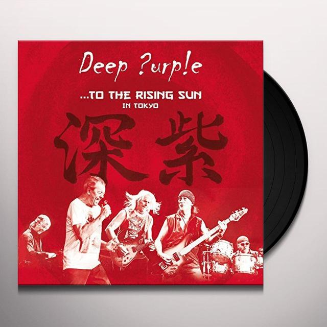 Deep Purple TO THE RISING SUN (IN TOKYO) Vinyl Record