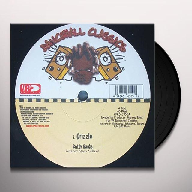 Cutty Ranks GRIZZLE Vinyl Record