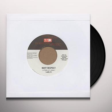 Lady G NUFF RESPECT Vinyl Record