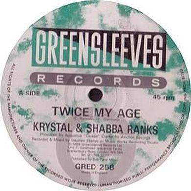 Krystal & Shabba Ranks TWICE MY AGE Vinyl Record