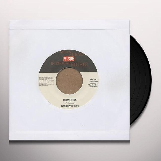 Gregory Isaacs RUMOURS Vinyl Record