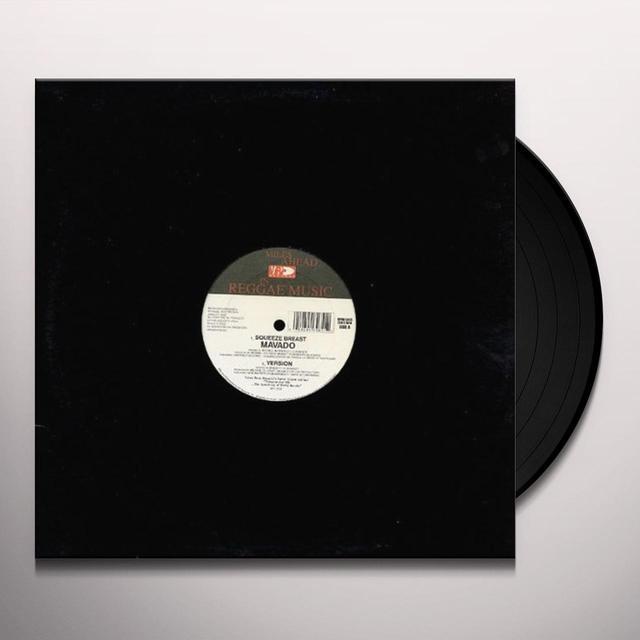 Mavado SQUEEZE BREAST Vinyl Record