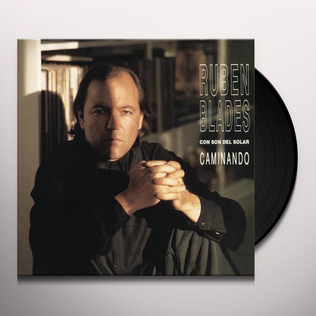 Chayanne & Ruben Blades CAMINANDO Vinyl Record