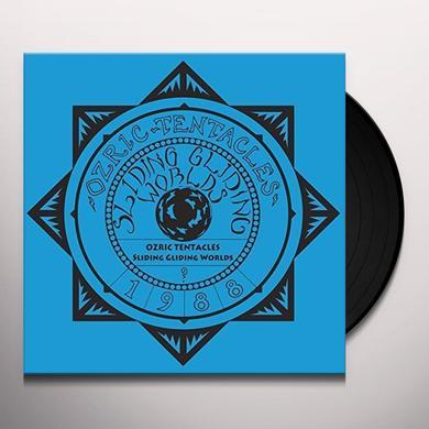 Ozric Tentacles SLIDING GLIDING WORLDS Vinyl Record