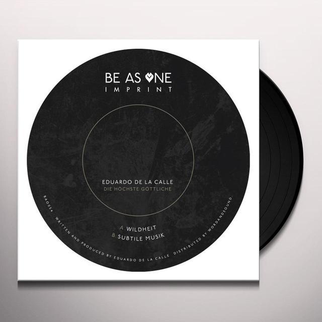 Eduardo De La Calle DIE HOCHSTE GOTTLICHE Vinyl Record