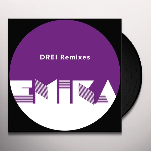 Emika DREI REMIXES Vinyl Record - Remixes