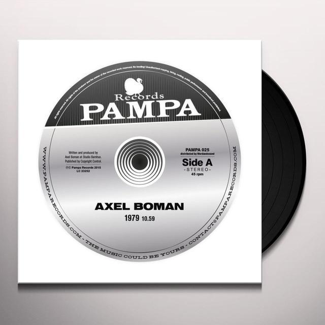 Axel Boman 1979 Vinyl Record