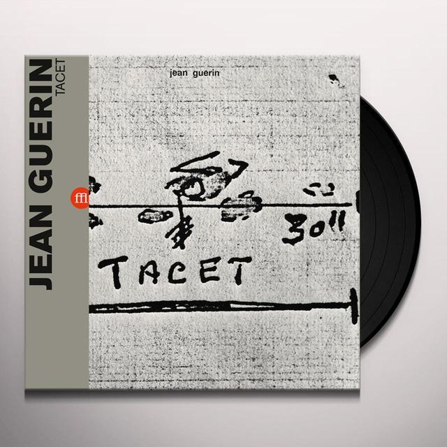 Jean-Christophe Guérin TACET Vinyl Record