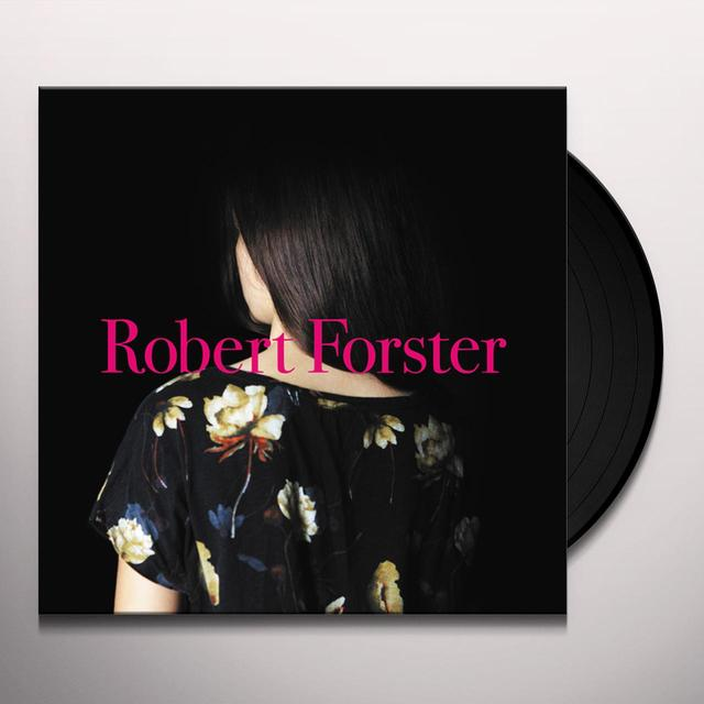 Robert Forster SONGS TO PLAY Vinyl Record - w/CD