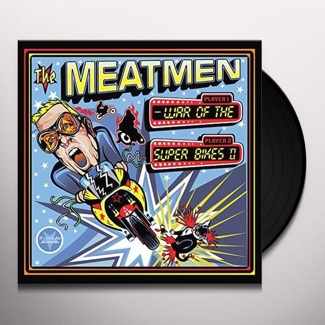 The Meatmen WAR OF THE SUPERBIKES 2 Vinyl Record