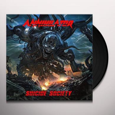 Annihilator SUICIDE SOCIETY Vinyl Record - UK Release