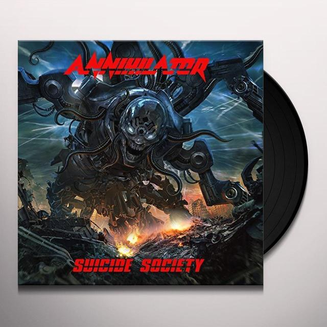 Annihilator SUICIDE SOCIETY Vinyl Record - UK Release