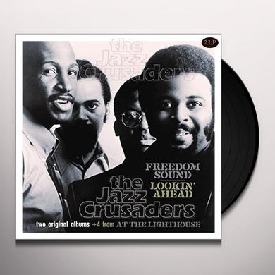 Jazz Crusaders FREEDOM SOUND/LOOKIN AHEAD Vinyl Record - Holland Import