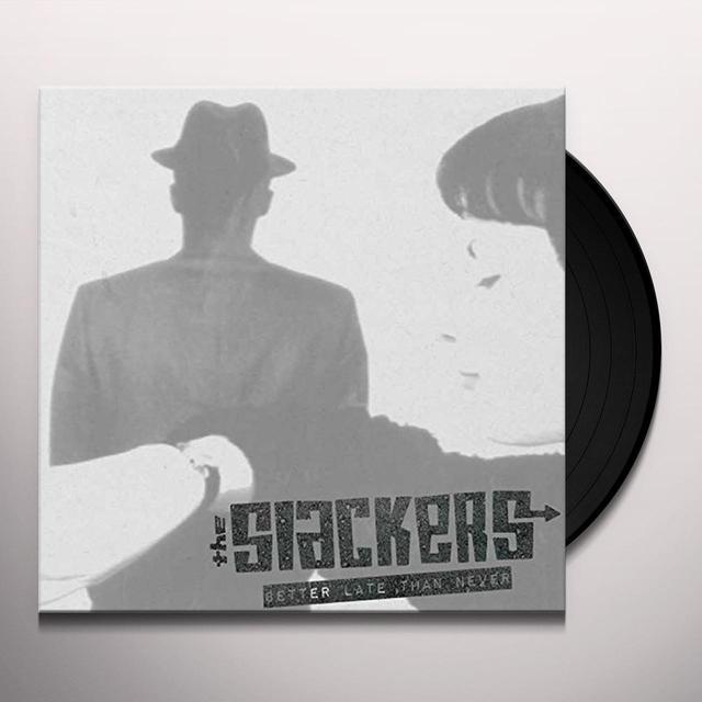 Dem Slackers BETTER LATE THAN NEVER Vinyl Record - Italy Import