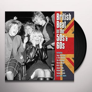 BRITISH BEAT IN THE 50S & 60S / VARIOUS (UK) BRITISH BEAT IN THE 50S & 60S / VARIOUS Vinyl Record