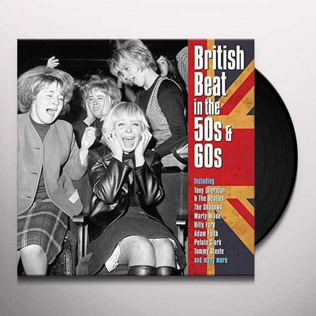 BRITISH BEAT IN THE 50S & 60S / VARIOUS (UK) BRITISH BEAT IN THE 50S & 60S / VARIOUS Vinyl Record - UK Import