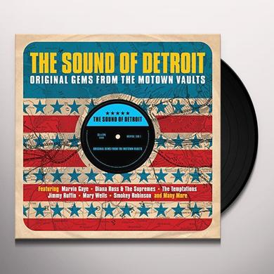 SOUND OF DETROIT:ORIGINAL GEMS FROM MOTOWN VAULTS Vinyl Record