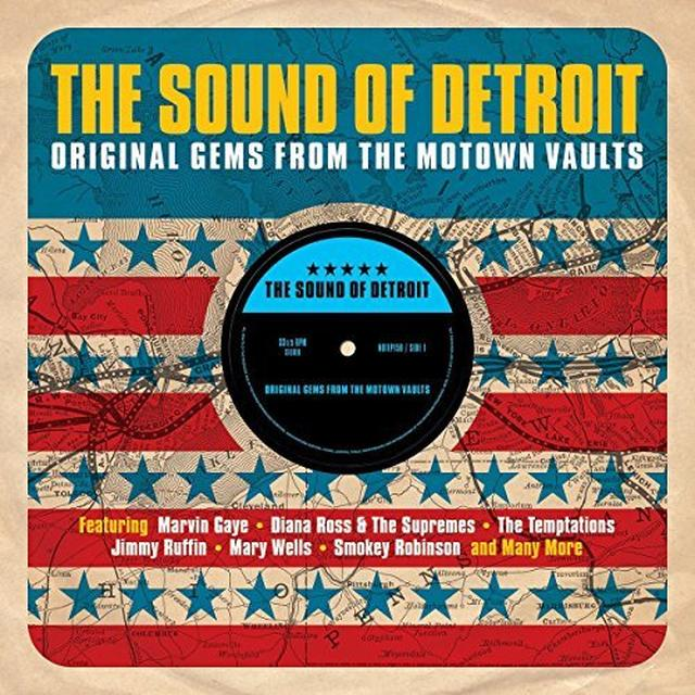 SOUND OF DETROIT:ORIGINAL GEMS FROM MOTOWN VAULTS Vinyl Record