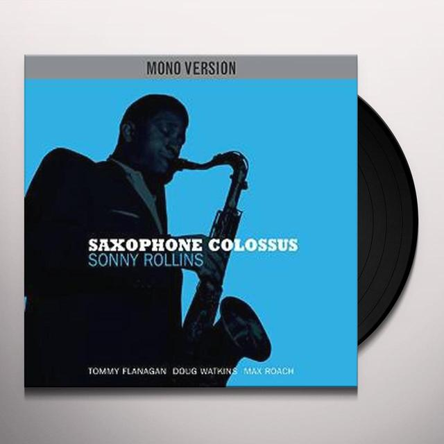 Sonny Rollins SAXOPHONE COLOSSUS (MONO VERSION) Vinyl Record - UK Import