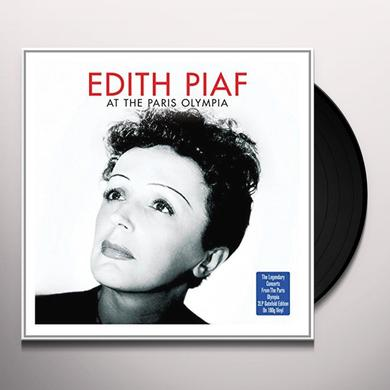 Édith Piaf AT THE PARIS OLYMPIA Vinyl Record - UK Import