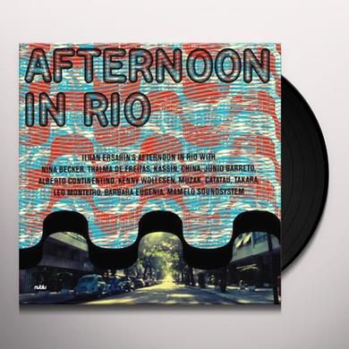 Ilhan Ersahin AFTERNOON IN RIO Vinyl Record - Gatefold Sleeve, Digital Download Included