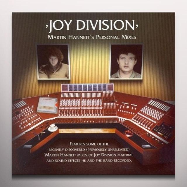 Joy Division MARTIN HANNETT'S PERSONAL MIXES Vinyl Record - Colored Vinyl, Gatefold Sleeve