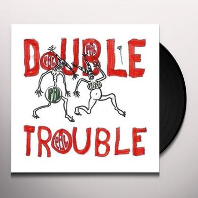 Public Image Ltd DOUBLE TROUBLE Vinyl Record - 10 Inch Single