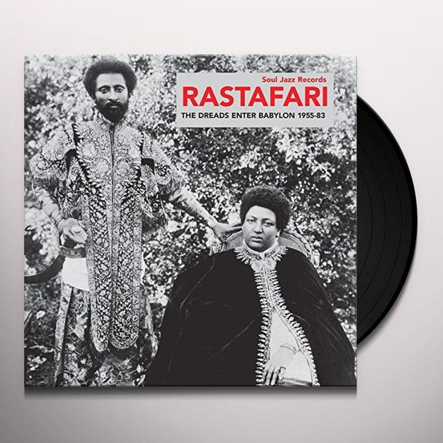 Soul Jazz Records Presents RASTAFARI: THE DREADS ENTER BABYLON 1955-83 Vinyl Record