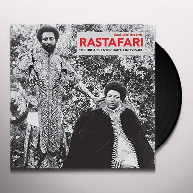 Soul Jazz Records Presents RASTAFARI: THE DREADS ENTER BABYLON 1955-83 Vinyl Record - Gatefold Sleeve