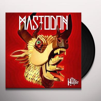 Mastodon HUNTER Vinyl Record - Colored Vinyl, Red Vinyl