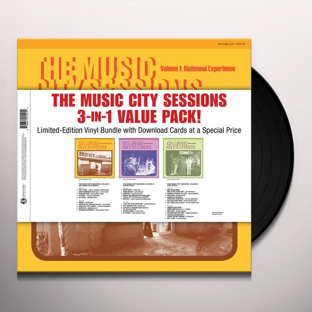 MUSIC CITY SESSIONS 3-IN-1 VALUE PACK Vinyl Record - Digital Download Included