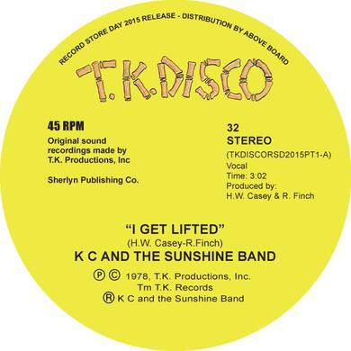 K.C. & SUNSHINE BAND I GET LIFTED (TODD TERJE EDIT) Vinyl Record