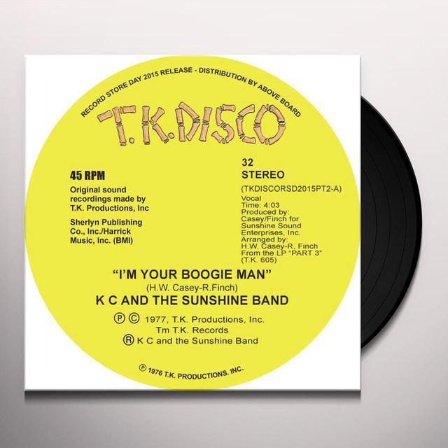 K.C. & SUNSHINE BAND I'M YOUR BOOGIE MAN (TODD TERJE EDIT) Vinyl Record
