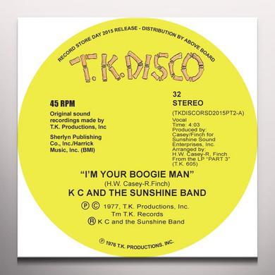 K.C. & SUNSHINE BAND I'M YOUR BOOGIE MAN (TODD TERJE EDIT) Vinyl Record - 10 Inch Single, Green Vinyl