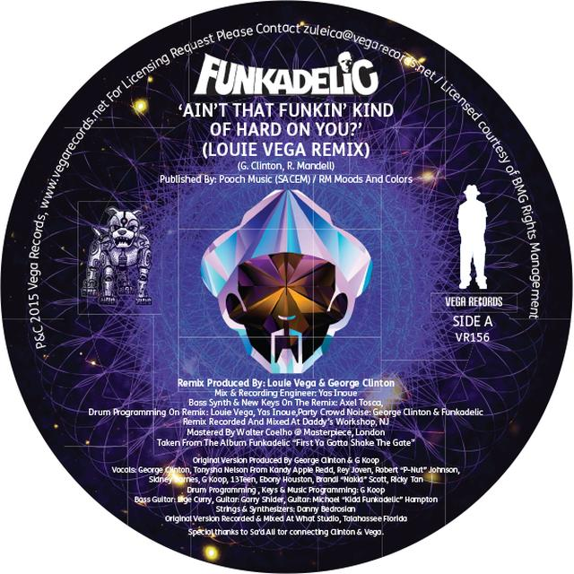 Funkadelic AIN'T THAT FUNKIN KIND HARD ON YOU Vinyl Record