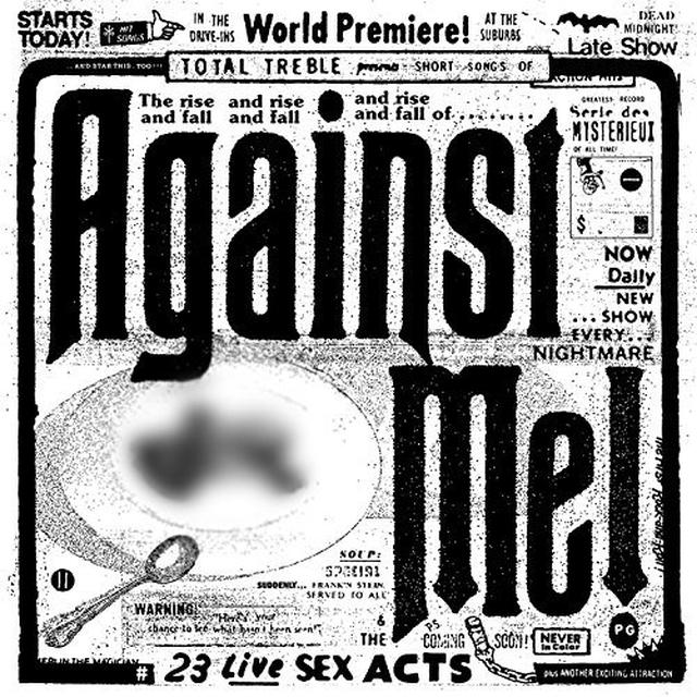 Against Me 23 LIVE SEX ACTS Vinyl Record