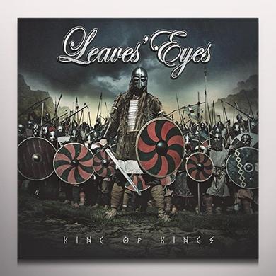 Leaves' Eyes KING OF KINGS Vinyl Record - Colored Vinyl, Gatefold Sleeve, Red Vinyl