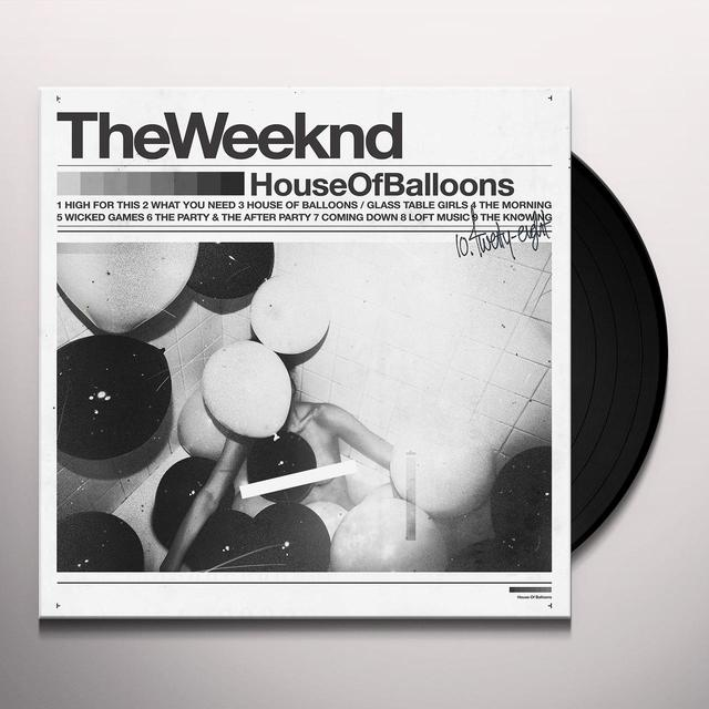 The Weeknd HOUSE OF BALLOONS Vinyl Record