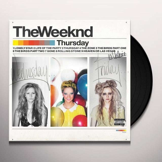 The Weeknd THURSDAY Vinyl Record