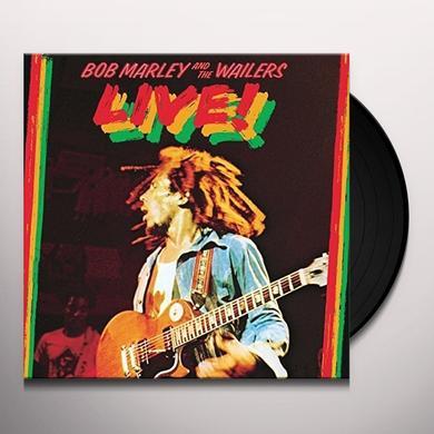 Bob Marley LIVE Vinyl Record