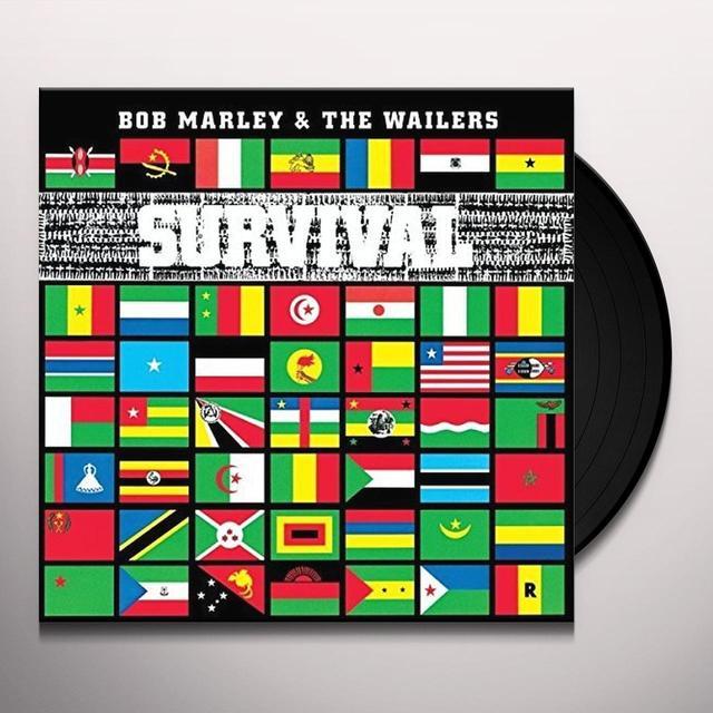 Bob Marley SURVIVAL Vinyl Record