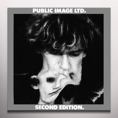 Public Image Ltd ( Pil ) SECOND EDITION Vinyl Record - Clear Vinyl