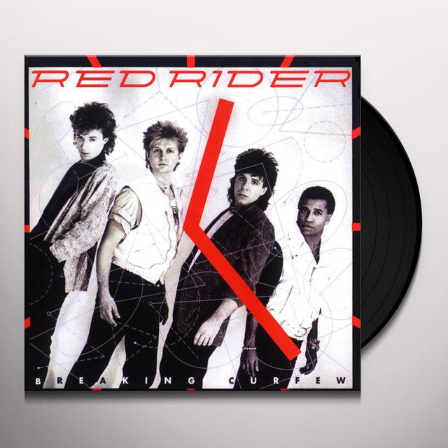 Red Rider BREAKING CURFEW Vinyl Record