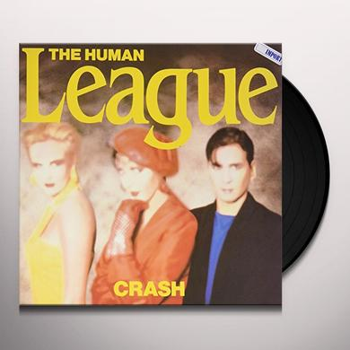 The Human League CRASH (W/ HUMAN) Vinyl Record - Gatefold Sleeve