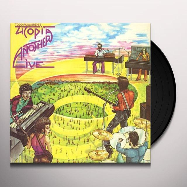 Utopia ANOTHER LIVE Vinyl Record