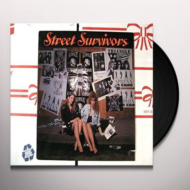 STREET SURVIVORS LITTLE CAESAR BANG TANGO SPHINX IN CAIRO BLACK Vinyl Record